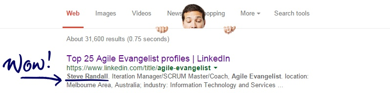 Steve Ranked #10 in Top 25 Agile Evangelists On LinkedIn